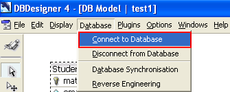 Step-by-step tutorial on using DBDesigner to analyze a web portal from the database design (ERD) aspects (MySQL) screenshots