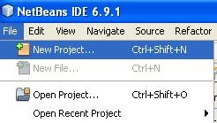 Creating the Java Swing project with Hibernate framework