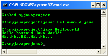 compile and run Java source code to test Java JDK