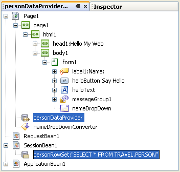 Step-by-step tutorial on NetBeans IDE and Java Visual Web Java