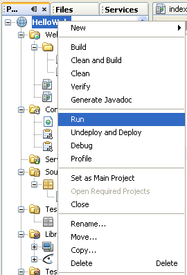 Step-by-step on how-to develop Java web applications using NetBeans
