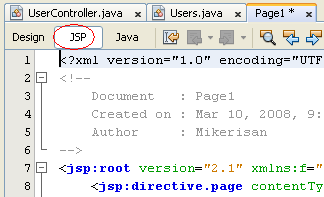 Step-by-step on Java web application using JPA: insert, update and delete record of the Java DB Derby database screenshots