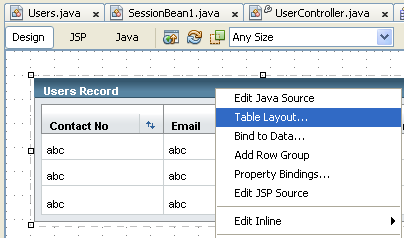Step-by-step tutorial on MySQL database access and Java web application using JSP, JPA and JSF on NetBeans screenshots