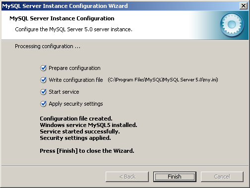 step-by-step on installing php on Windows 2003 server screen shots