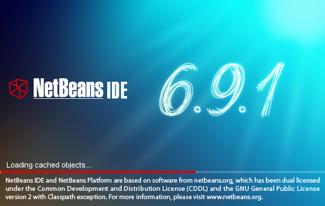 NetBeans IDE Installer: NetBeans splash screen 2