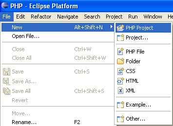 eclipse PHP PDT and wordpress testing