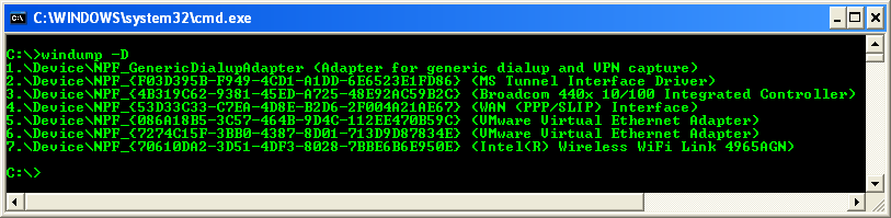 Download free Tcpdump Tool For Windows software ...