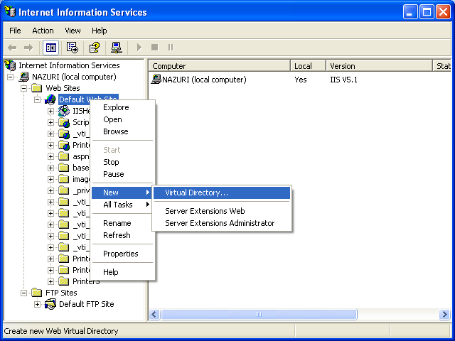 ActivePerl, Perl for Windows - creating virtual directory for IIS